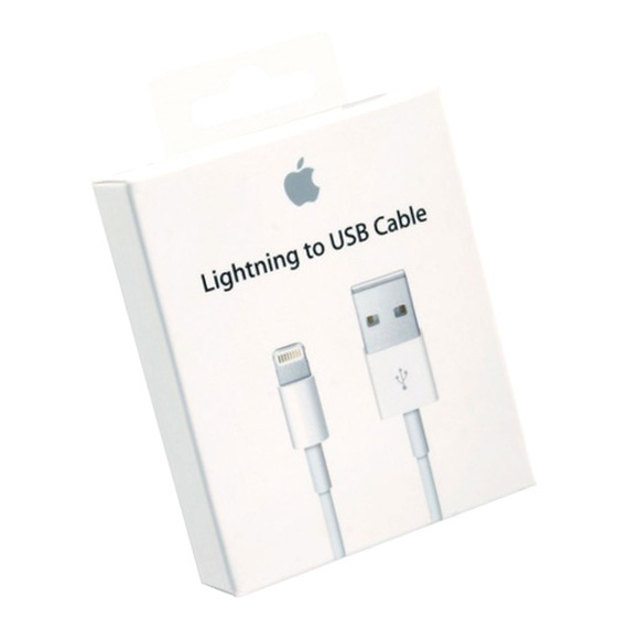 Original Apple MD818ZM/A USB Lightning Daten- Ladekabel Blister OVP für iPhone Modelle