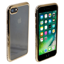 Backcover Strass für iPhone 7 Gold