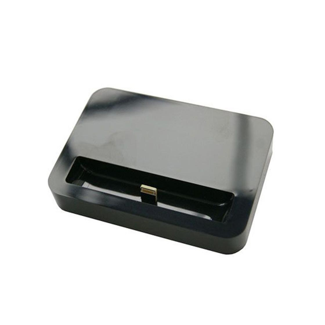 dockingstation f r iphone 5s 5se 5c 5 schwarz 6 50. Black Bedroom Furniture Sets. Home Design Ideas