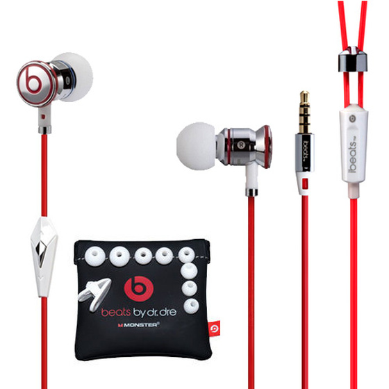 Monster Beats By Dr. Dre Urbeats InEar Headset Weiss/Rot