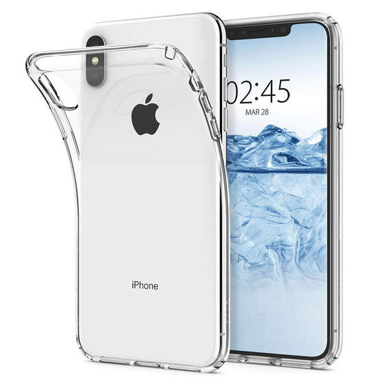 Ultra Dünne TPU Silikon Hülle Clear Case für Apple iPhone Xs