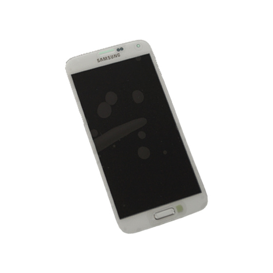 Samsung G900F Galaxy S5 LCD Display in Weiß shimmery-white
