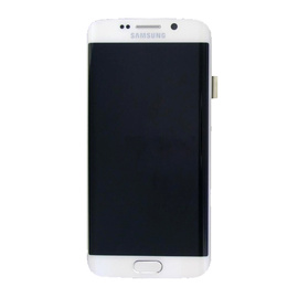Samsung G925F Galaxy S6 Edge LCD Display - White