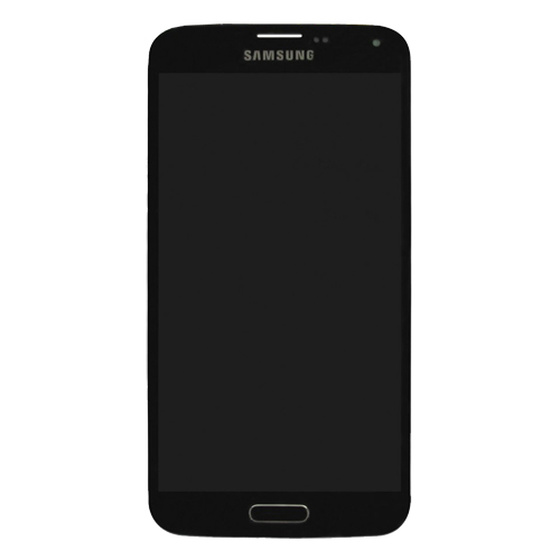 Samsung G800F Galaxy S5 Mini LCD Display in Schwarz charcoal-black