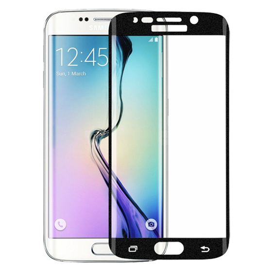 3D Echt Glas Displayschutz Folie für Samsung Galaxy S6 Edge PLUS Curved